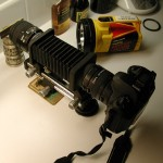 microcircuit photography setup