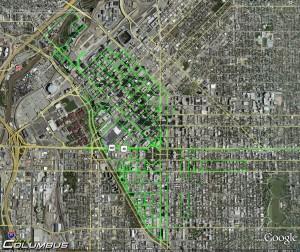 Downtown Denver Driving Route
