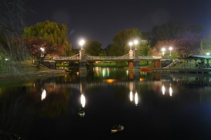 Boston Common Bridge, Nikon D300